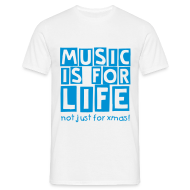T-Shirts ~ Men's T-Shirt ~ music life (M)