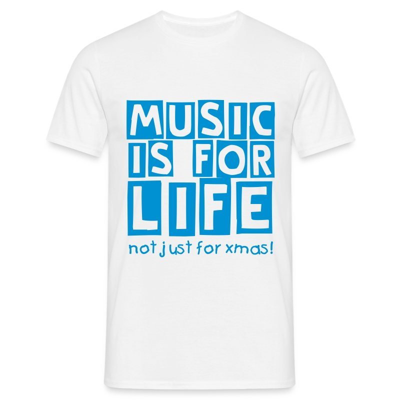 music life (M) - Men's T-Shirt
