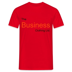 The Business front & back (red) - Men's T-Shirt