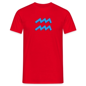 T-shirt uomo Acquario - Maglietta da uomo