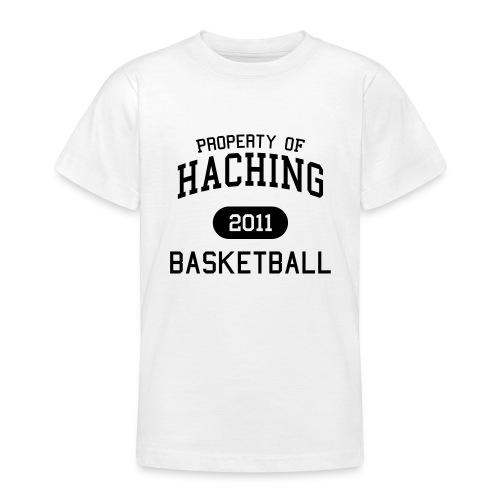 Kinder Property 2011 schwarz - Teenager T-Shirt