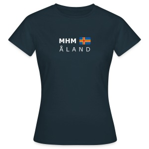 Women's T-Shirt MHM ÅLAND white-lettered - Women's T-Shirt
