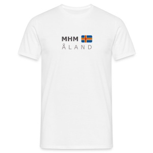 Classic T-Shirt MHM ÅLAND dark-lettered - Men's T-Shirt
