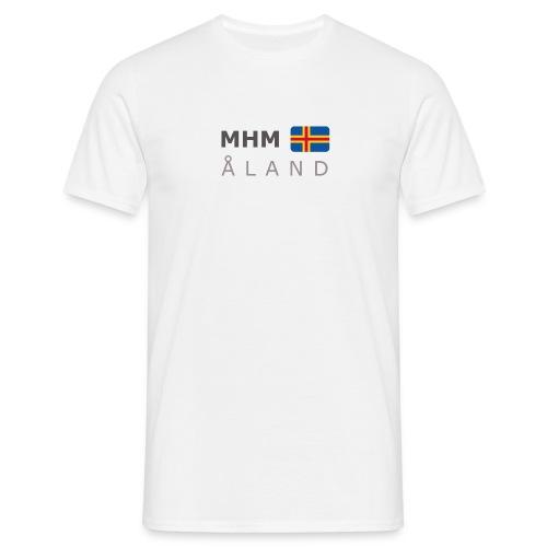 Classic T-Shirt MHM ÅLAND dark-lettered - Men's T-Shirt