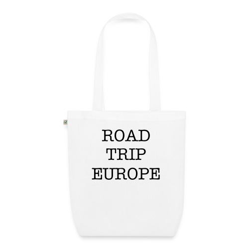 Tote bag roadtrip europe blue - EarthPositive Tote Bag