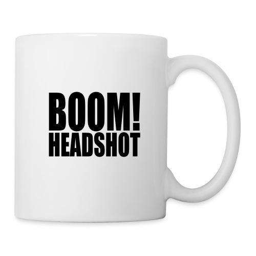 Guten Morgen Headshot - Tasse