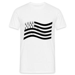 t-shirt drapeau Breton - T-shirt Homme
