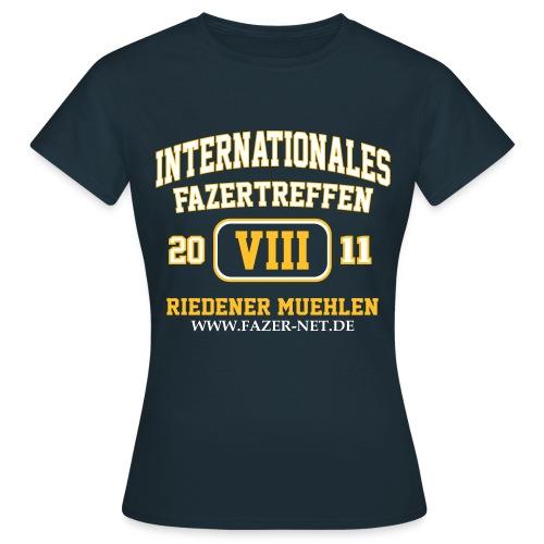 Treffen-Shirt, navy, Frauen - Frauen T-Shirt