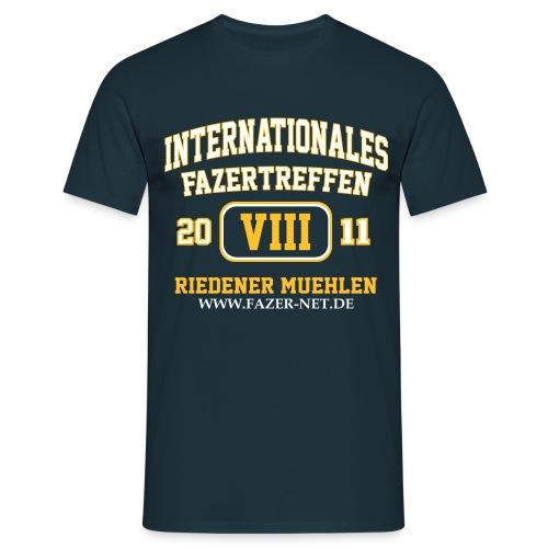 Treffen-Shirt, navy, Männer - Männer T-Shirt