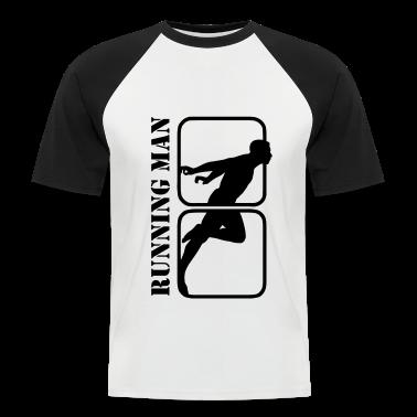 Running Man jogging sports motif T-Shirts
