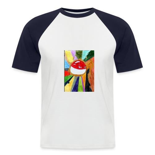 Voltoball - Männer Baseball-T-Shirt