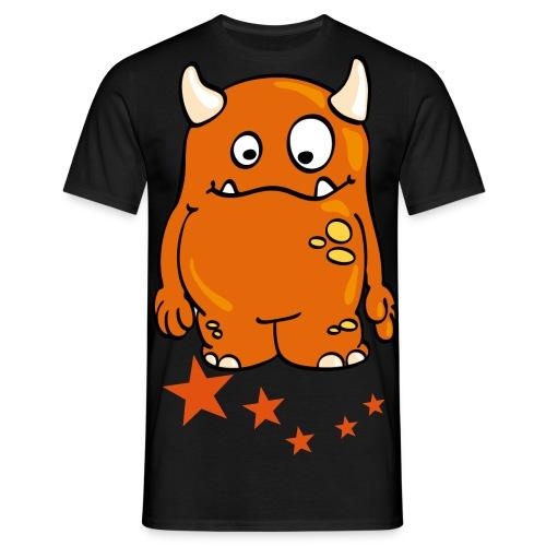 Kingsmileys - Orange Monster! - Men's T-Shirt