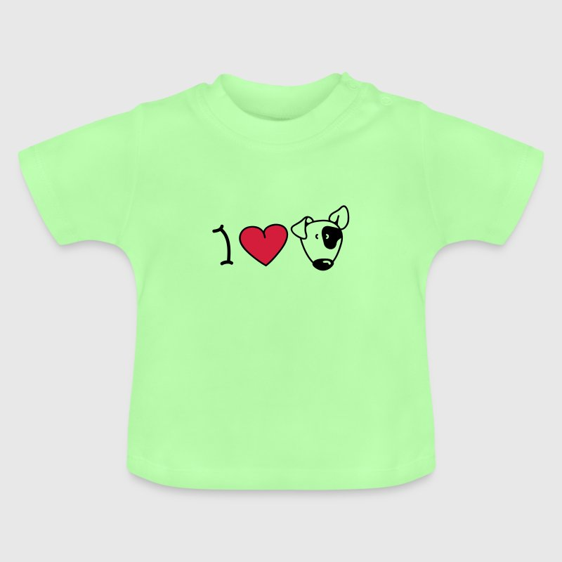 I love dogs Baby Shirts  - Baby T-Shirt