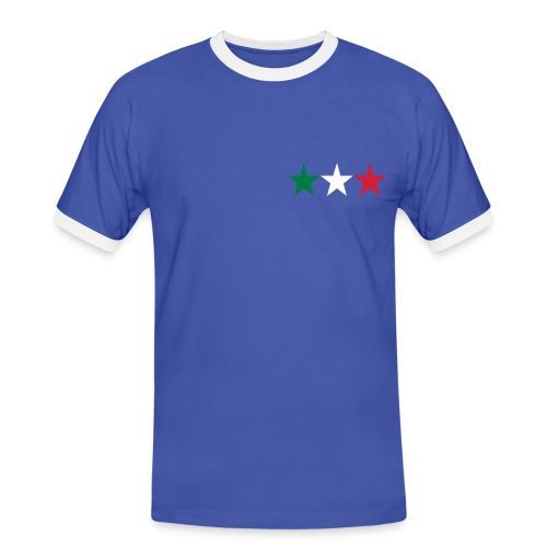 Italy shirt. - Mannen contrastshirt