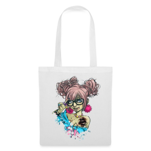 SHIBUYA UNDEAD colorful bag - Stoffbeutel