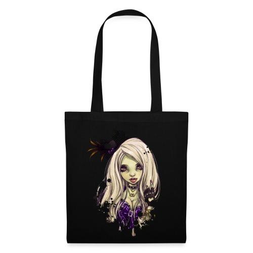 SHIBUYA UNDEAD dark bag - Stoffbeutel