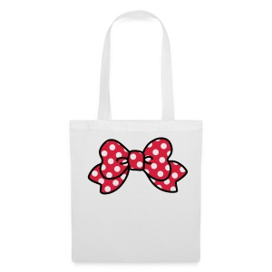 CUTE RIBBON minnie bag - Stoffbeutel