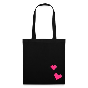 PIXELHEART bag - Stoffbeutel