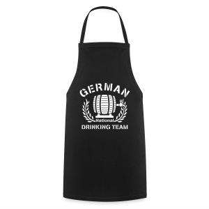 German Drinking Team (Grillen Shirt) - Kochschürze