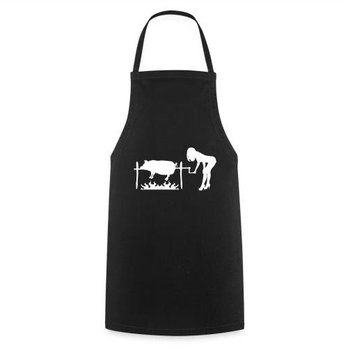 Spanferkel mmmh lecker (Grillen Shirt) - Kochschürze