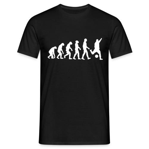 Fussball Evolution (Sport T-Shirt) - Männer T-Shirt