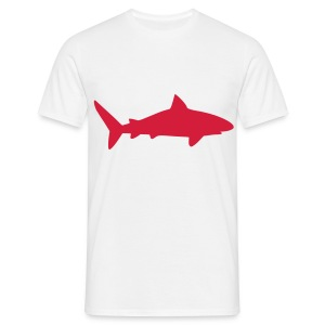 T-Shirt Red Shark - T-shirt Homme
