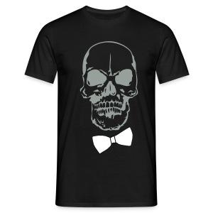 ☆_TETE DE MORT + NOEUD PAP - T-shirt Homme