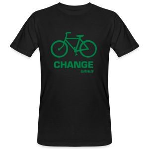 change - T-shirt bio Homme