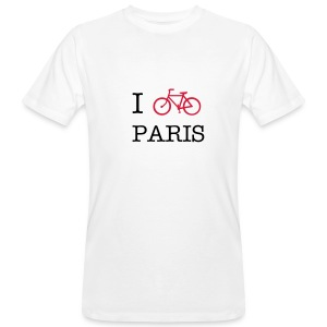 i love paris - T-shirt bio Homme