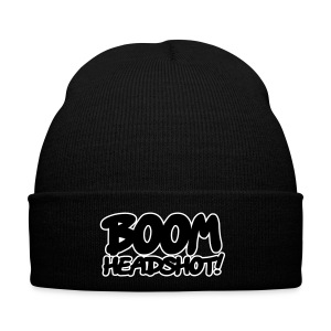 Mens 'BOOM HEADSHOT' Winter Cap - Winter Hat