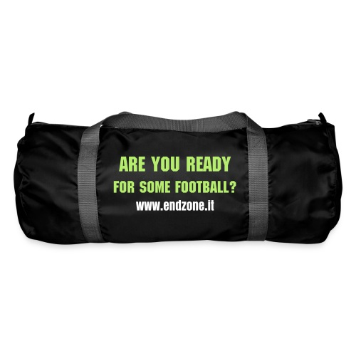 Borsa sportiva Are you ready fronte/retro - Borsa sportiva