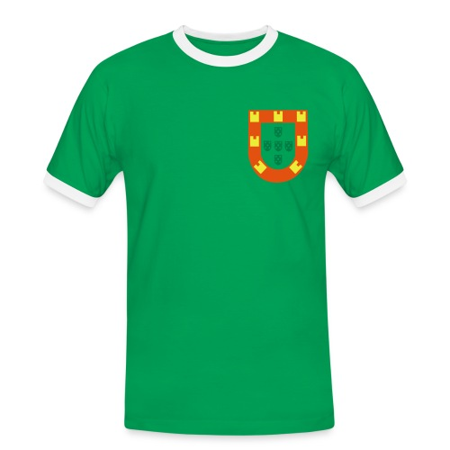 Maillot rétro années 60 personnalisable - T-shirt contrasté Homme