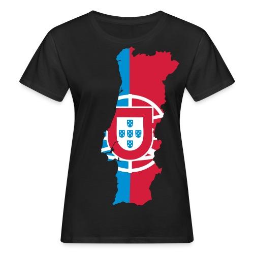 Portugal Bleu Blanc Rouge - T-shirt bio Femme
