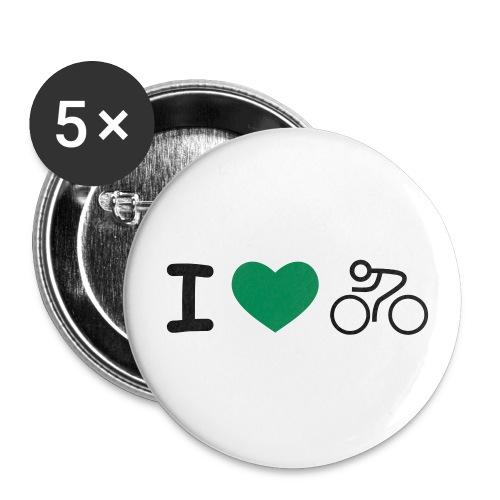 Button - Buttons groß 56 mm (5er Pack)