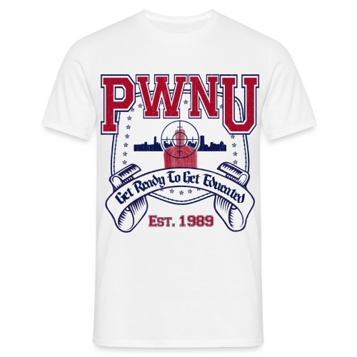 PwnU White - Men's - Men's T-Shirt
