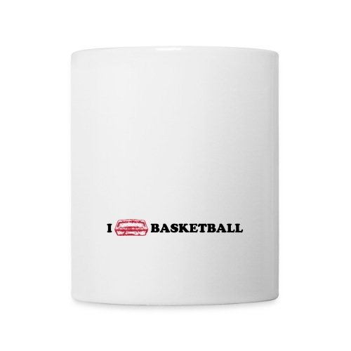 I brick Basketball (White/Black) - Tasse