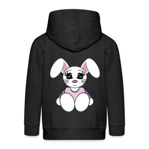 Veste capuche enfant lapin - Veste à capuche Premium Enfant