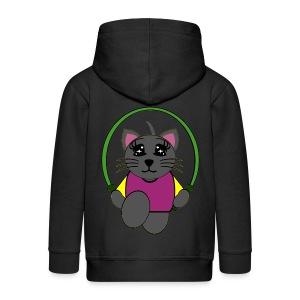 Veste capuche enfant chat - Veste à capuche Premium Enfant