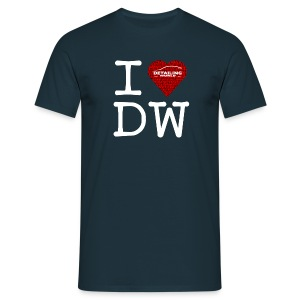 Detailing World 'I Love DW' T-Shirt Coloured (Men's) - Men's T-Shirt
