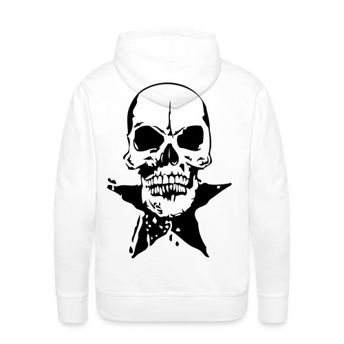 tete de mort etoile - Sweat-shirt à capuche Premium pour hommes