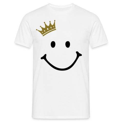 Crown Smiley T shirt - Men's T-Shirt