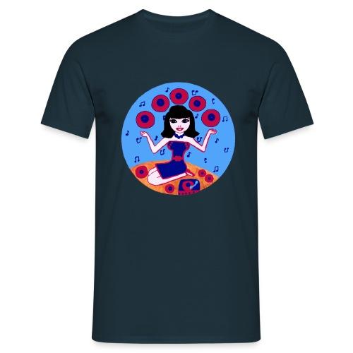 Record girl  - Männer T-Shirt