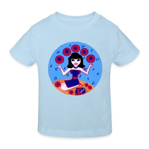 Record girl  - Kinder Bio-T-Shirt