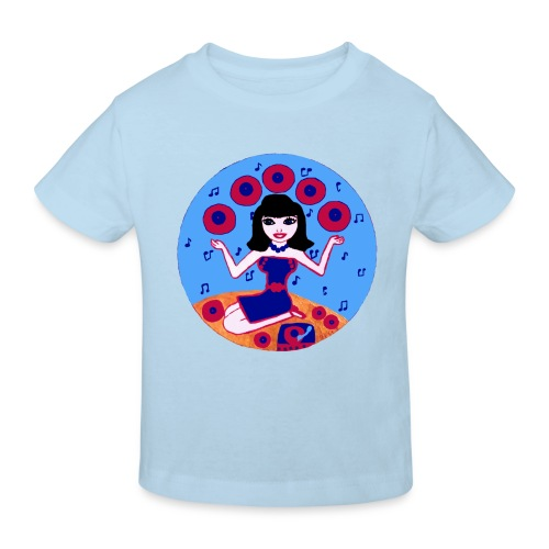 Record girl  - Kinder Bio-T-Shirt