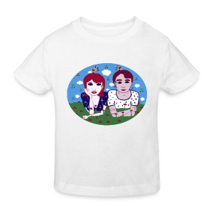 I want the cherry - Kinder Bio-T-Shirt