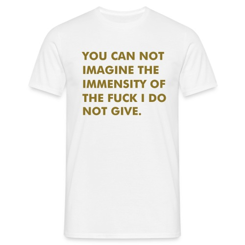 IMMENSITY - Male Classic - Männer T-Shirt