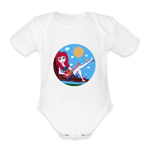 Love´n Music - Baby Bio-Kurzarm-Body