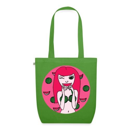 Melon Girl  - Bio-Stoffbeutel