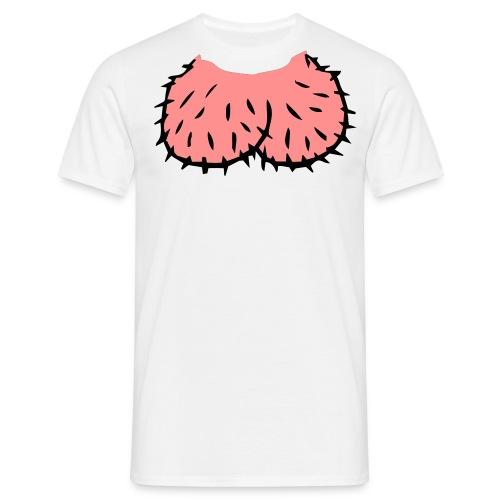 Peniskopf T-Shirt - Männer T-Shirt