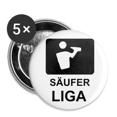 Buttons - Buttons klein 25 mm (5er Pack)